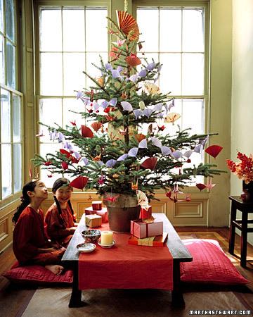 Adornos navidad arboles navide os de martha stewart - Martha stewart decoracion ...