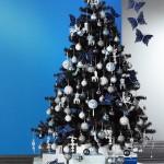 arbol navideño negro